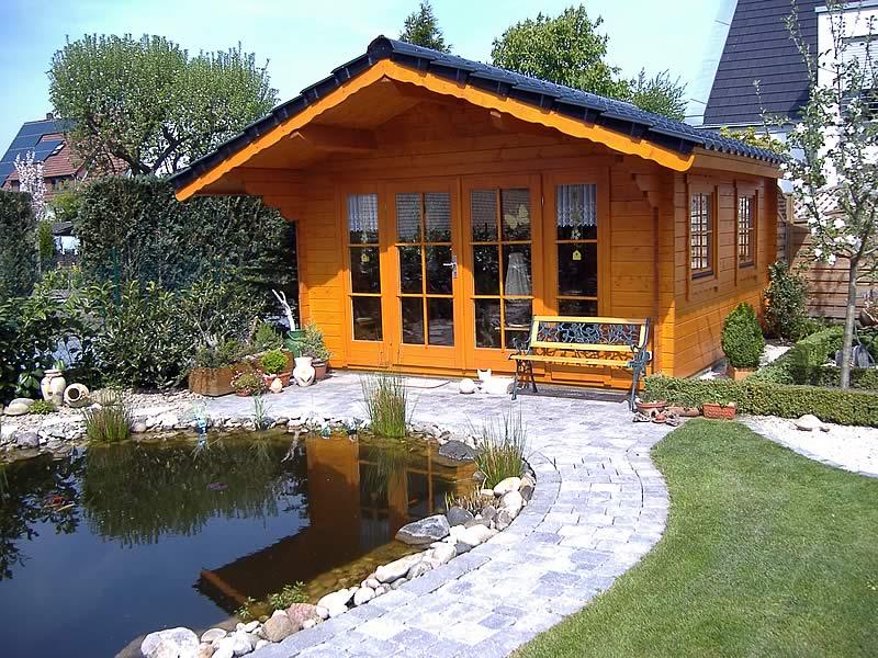 Gartenhaus in Gütersloh | Pollmeier Holzbau GmbH