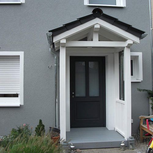 Haustürüberdachung in Bielefeld