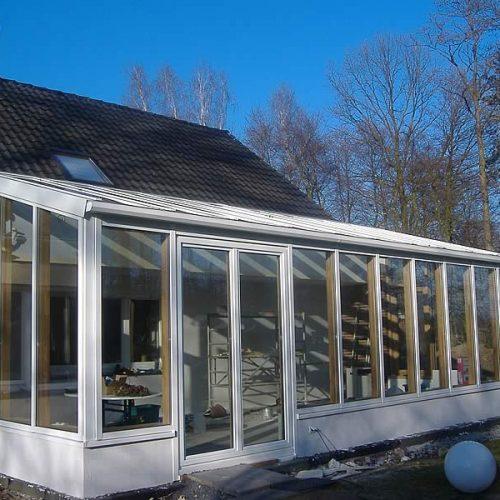 Holz-Alu-Wintergarten in Verl
