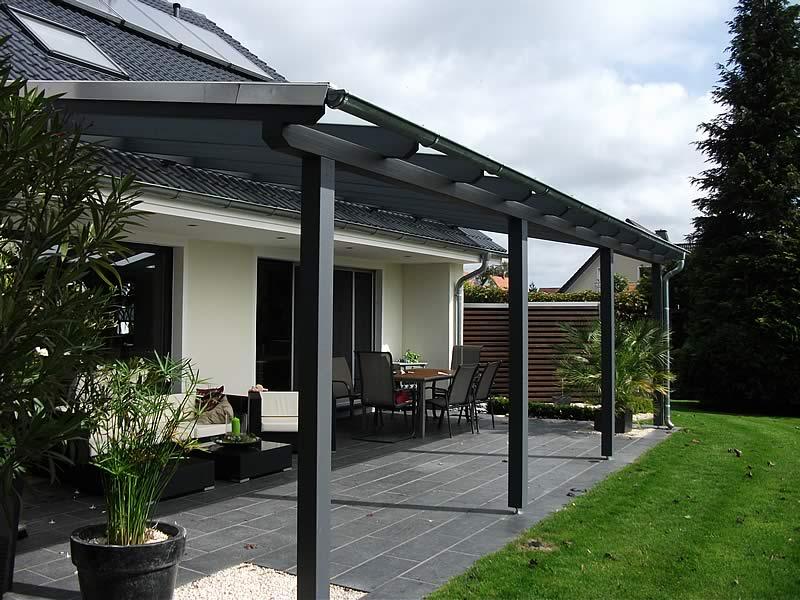 TerrassenUberdachung Holz Oder Aluminium ~ Terrassenüberdachung  Pollmeier Holzbau GmbH