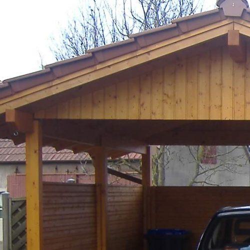 Satteldach-Carport in Lippe