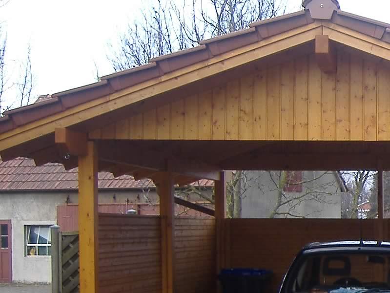 Satteldach carport in lippe pollmeier holzbau gmbh