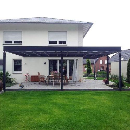 Terrassendach in Oelde