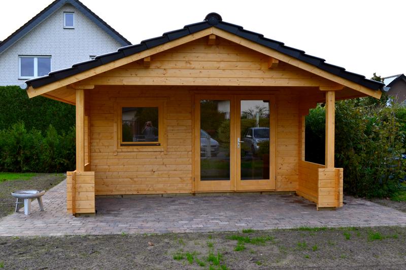 Gartenhaus 45mm Blockbohlen Rietberg | Pollmeier Holzbau GmbH