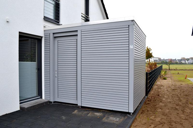 Innovativ Carport Fahrradabstellraum | Pollmeier Holzbau GmbH PB43