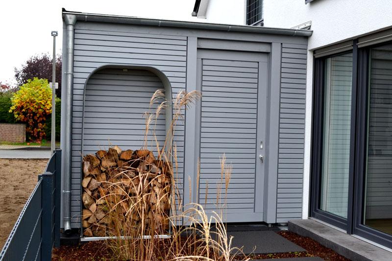 Hervorragend Carport Fahrradabstellraum | Pollmeier Holzbau GmbH HG81