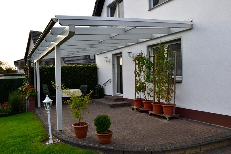 Terrassendach Aus Holz Mit Vsg 8mm In Rietberg Pollmeier Holzbau Gmbh