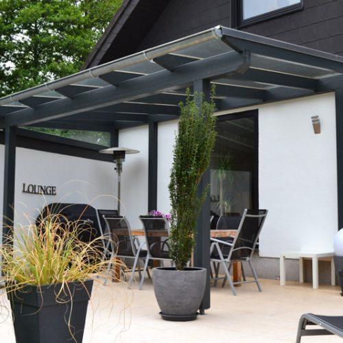 Terrassendach aus Holz in Bielefeld