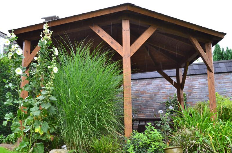 6 eck pavillon in beckum pollmeier holzbau gmbh. Black Bedroom Furniture Sets. Home Design Ideas