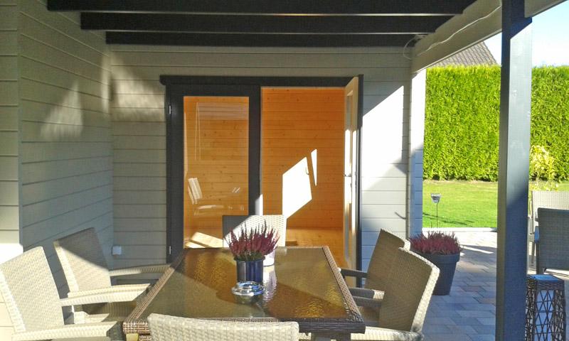 flachdachgartenhaus mit freisitz bielefeld pollmeier. Black Bedroom Furniture Sets. Home Design Ideas
