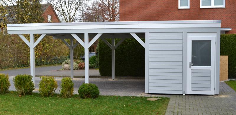 Favorit Einzelcarport mit Abstellraum Verl | Pollmeier Holzbau GmbH CV49