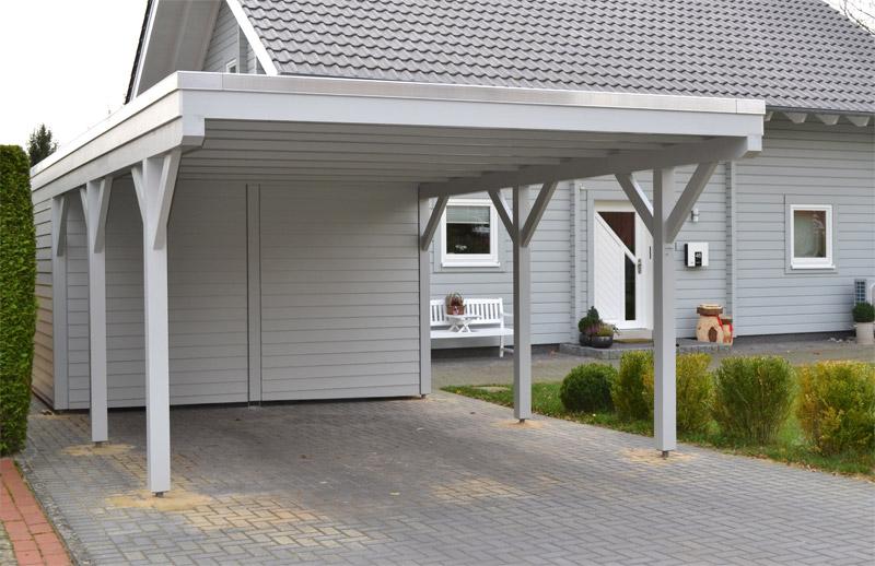 Häufig Einzelcarport mit Abstellraum Verl | Pollmeier Holzbau GmbH LG56
