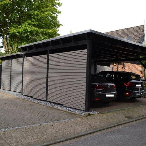 Carport mit Abstellraum in Bielefeld