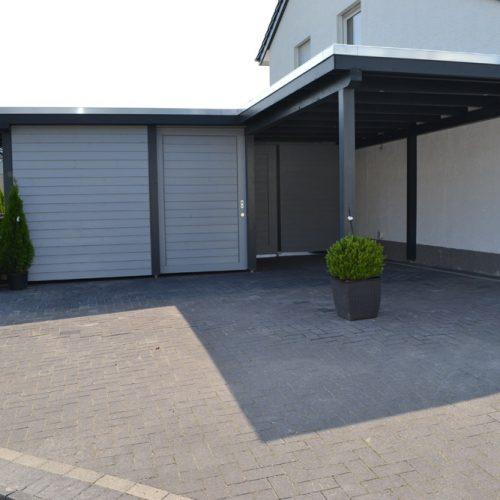 Carport mit Abstellraum in Oelde