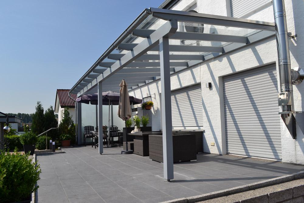 Holzterrassendach in Oelde