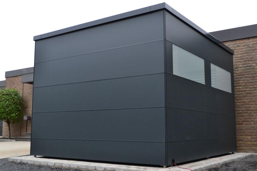 abstellraum mit hpl platten und trespa in wiedenbr ck. Black Bedroom Furniture Sets. Home Design Ideas