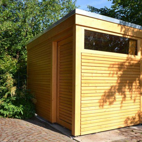 Abstellraum mit Rhombusprofil in Oelde