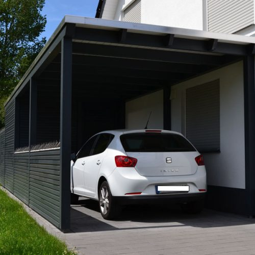 Carport mit Abstellraum in Detmold