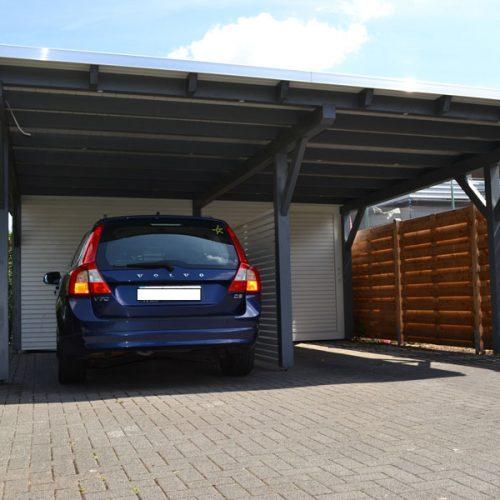 Doppelcarport mit Abstellräumen in Herford
