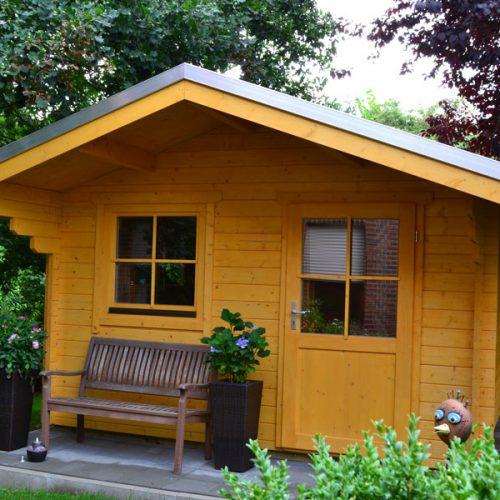Gartenhaus 3 m x 3 m aus 45 mm Blockbohlen in Lippstadt