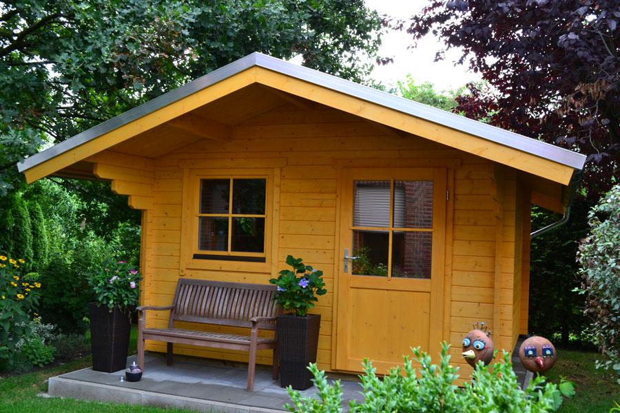 gartenhaus 3 m x 3 m aus 45 mm blockbohlen in lippstadt. Black Bedroom Furniture Sets. Home Design Ideas
