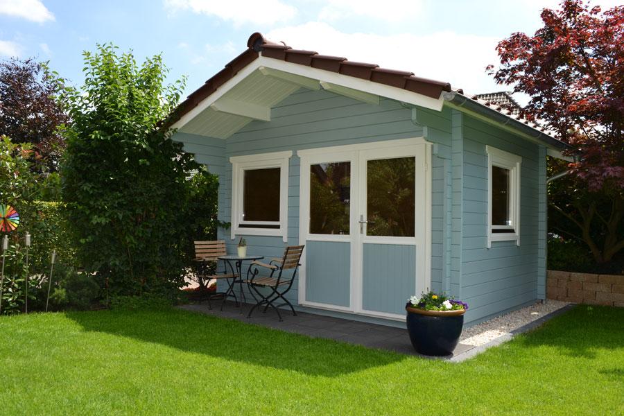 gartenhaus aus 45 mm blockbohlen in beelen pollmeier. Black Bedroom Furniture Sets. Home Design Ideas