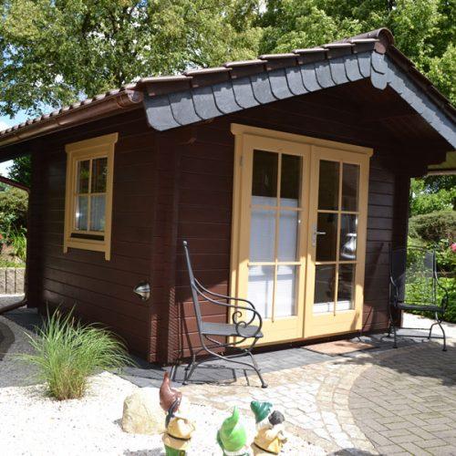 Gartenhaus aus 45 mm Blockbohlen in Gütersloh