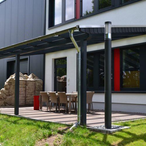 Holzterrassendach in Delbrück