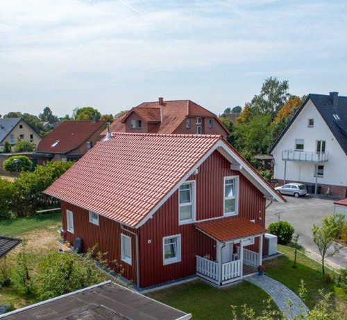 Holzrahmenbau als Schwedenhaus in Rietberg