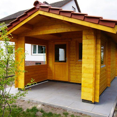 Gartenhaus aus 45mm BB in Avenwedde