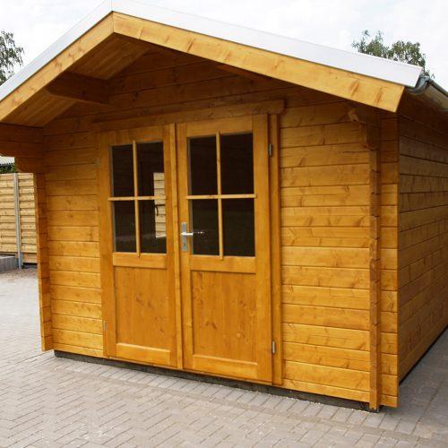 Gartenhaus aus 45mm BB in Bokel