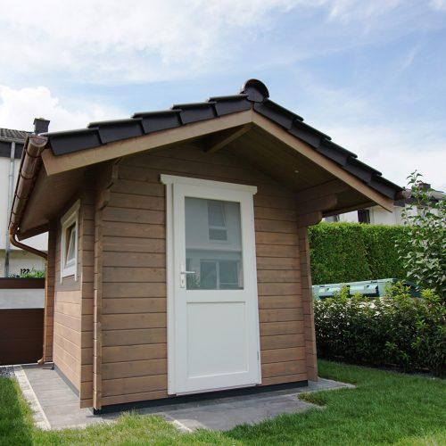 Gartenhaus aus 45mm BB mit Satteldach in Hövelhof