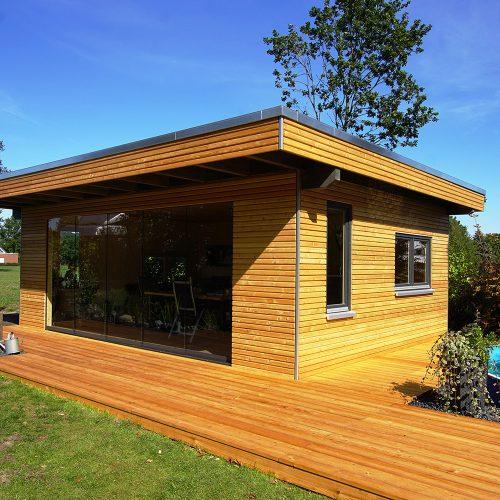 Gartenhaus aus Lärchenholz in Wiedenbrück