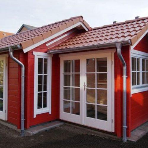 Gartenhaus aus 70mm BB in Herford