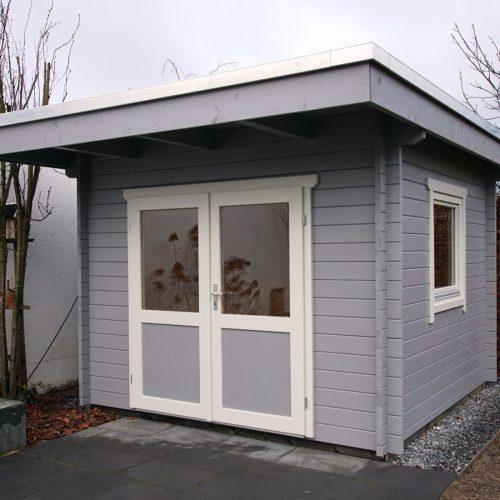Flachdachgartenhaus aus 45mm BB in Gütersloh