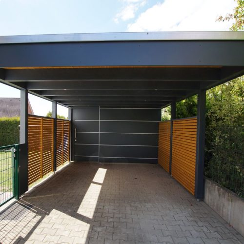 Carport mit Abstellraum in Rietberg